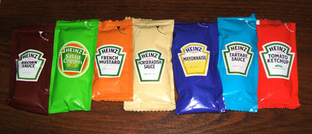 heinz 57, or is that 7?
