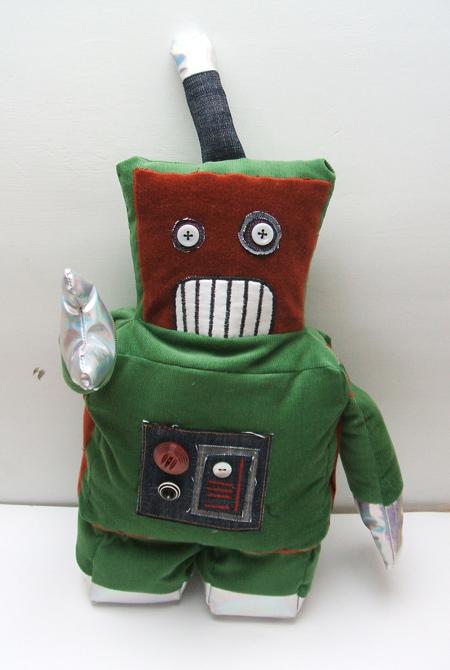 more robot : )