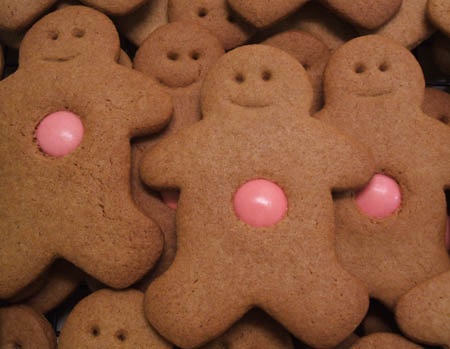 Gingerbread Men recipe!
