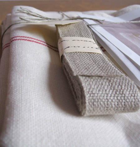 I love linen : )